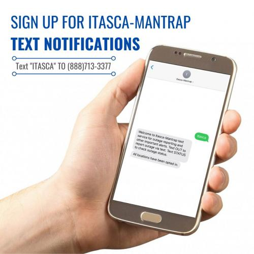 Sign Up for Itasca-Mantrap Text Notifications